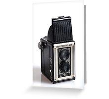 Twin Lens Camera Greeting Card