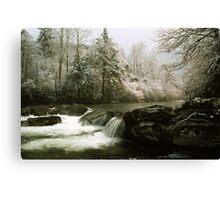WINTER,GREENBRIER Canvas Print