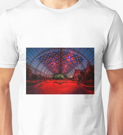 Luftwerk light show at the Garfield Park Conservatory  Unisex T-Shirt