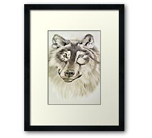 Friendly Eyes Framed Print