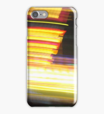 Streakers - Lellow iPhone Case/Skin
