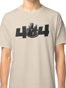 programmer - 404 life not found Classic T-Shirt