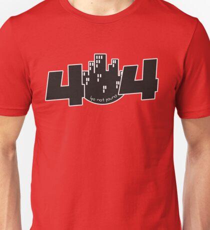 programmer - 404 life not found Unisex T-Shirt
