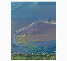 Landscape with dandelions Unisex T-Shirt