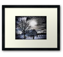 The Light From Above Framed Print
