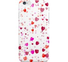 More Pretty In Pink Hearts iPhone Case/Skin