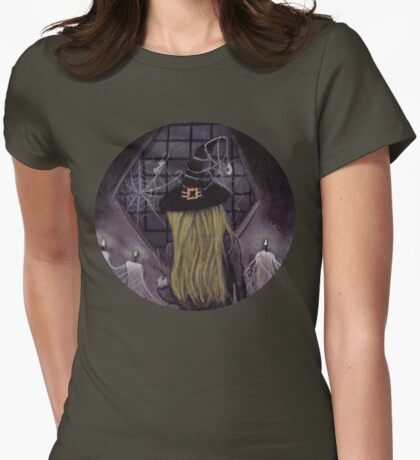 Witches Waiting... Womens Fitted T-Shirt