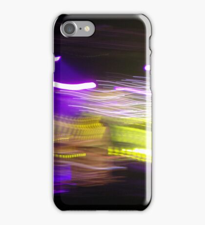 Streakers - PurpleGreen iPhone Case/Skin