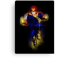 Knee of Justice  Canvas Print
