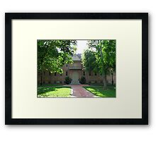 Wren Building Framed Print