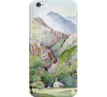 Beddgelert iPhone Case/Skin