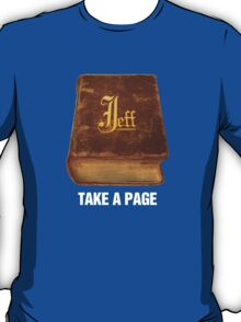 The Book of Jeff (color) T-Shirt