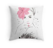 Adorable Amy Throw Pillow