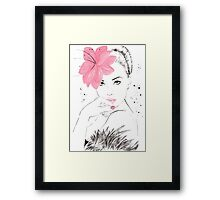 Adorable Amy Framed Print