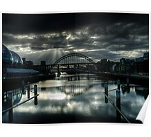 Sunlight on The Tyne Poster