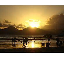 Brazil's Sunset Photographic Print