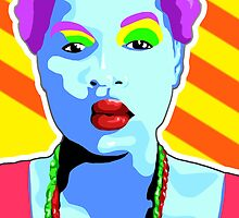 Vee's Pop Art: Li'l Sista by Vestque