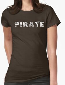 Pirate Symbols Womens Fitted T-Shirt