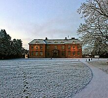 Wintertime at Tredegar House by Christopher Hill