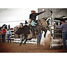 Ride Em Cowboy! Photographic Print