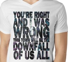 A Day To Remember-Downfall Of Us All Mens V-Neck T-Shirt