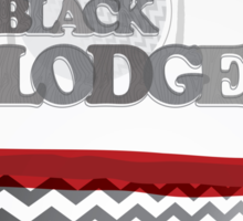 The Black Lodge Sticker