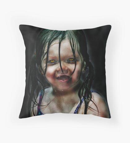 Living Dead Girl  Throw Pillow