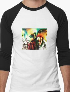 Bird of paradise Men's Baseball ¾ T-Shirt