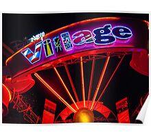 Disney Village Lights Poster