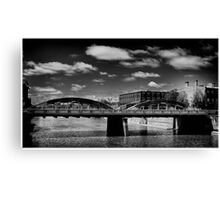 Bridge from the 1930s  Canvas Print