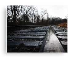 The Right Track  Canvas Print