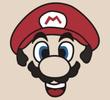 Mario face by Matthew Bush
