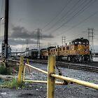 Los Angeles trainyard by Rob  Stanard
