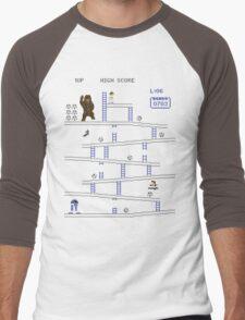 Wookie Kong Men's Baseball ¾ T-Shirt