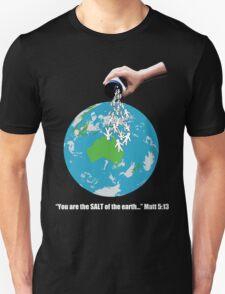 SALT - White Text T-Shirt