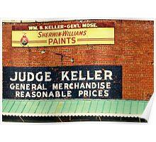 Judge Keller Poster