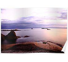 eastcoast sunrise. bicheno, tasmania Poster