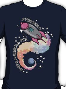 Starships Were Meant To Fly! T-Shirt