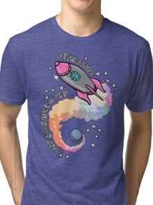 Starships Were Meant To Fly! Tri-blend T-Shirt