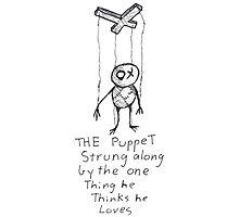 The Puppet Photographic Print