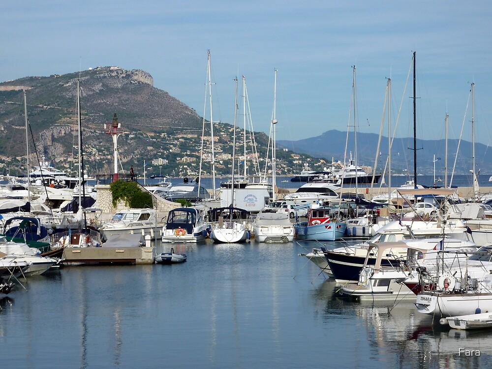 Marina On Cap Ferrat by Fara