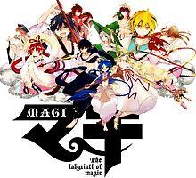 Magi: The Labyrinth of Magic V2 by aniplexx