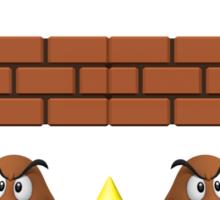 Doodle X Mario Sticker