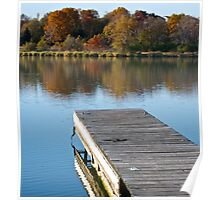 Fall Dock Poster