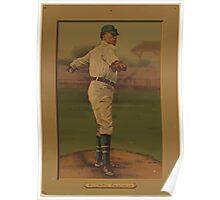 Benjamin K Edwards Collection Nap Rucker Brooklyn Dodgers baseball card portrait Poster