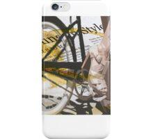 retro BICYCLE URBAN CHIC print iPhone Case/Skin