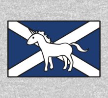Unicorn, Scotland's National Animal One Piece - Long Sleeve