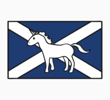 Unicorn, Scotland's National Animal Kids Tee