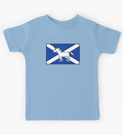 Unicorn, Scotland's National Animal Kids Tee