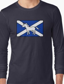 Unicorn, Scotland's National Animal Long Sleeve T-Shirt